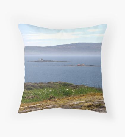 More and Beg Throw Pillow