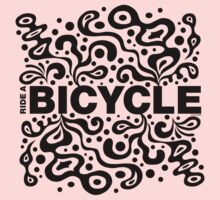 Ride a Bicycle - funky Kids Clothes
