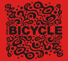 Ride a Bicycle - funky by Andi Bird