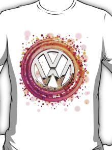 The Abstract Circular VW Badge T-Shirt T-Shirt