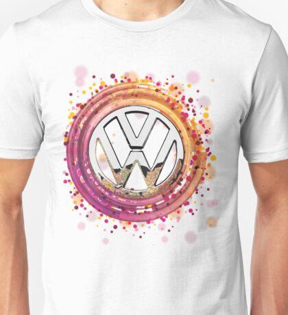 The Abstract Circular VW Badge T-Shirt Unisex T-Shirt