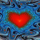 Wavy Heart by Beatriz  Cruz