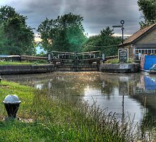 Bulbourne Dry Docks by Mark Thompson
