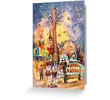 Munich Authentic Greeting Card