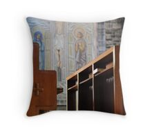 Galway Cathedral Throw Pillow