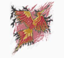 Flames of the Phoenix - digital design Kids Clothes