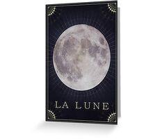 La Lune  Greeting Card