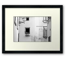I see you watching me. Framed Print