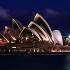 Sydney Opera House by Barbara  Glover