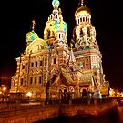 Spilled Blood at Night by Roddy Atkinson