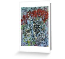 Red Tulips. Greeting Card