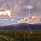 Bridgeport with Lightning by the57man