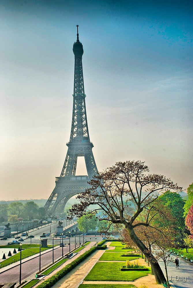 Eiffel Tower by J. Day
