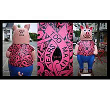 Spread The Word - Too Many Tears Pig Photographic Print