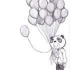 Sad Panda by Krystal Frazee