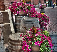 Distillery Flowers by Al Duke