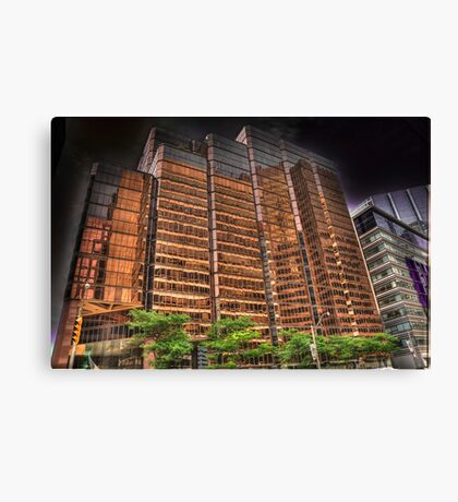 Golden Office Canvas Print