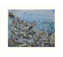 Atlantic Coast. Art Print