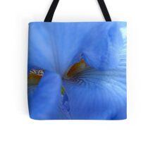 Blue brush off Tote Bag
