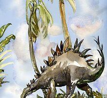 Stegosaurus by casa