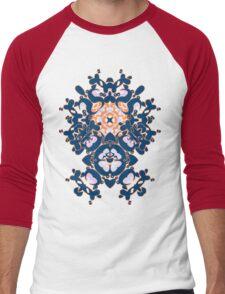 Geometric Gardens Men's Baseball ¾ T-Shirt