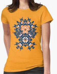 Geometric Gardens Womens Fitted T-Shirt
