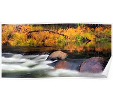 Merced River Autumn Poster
