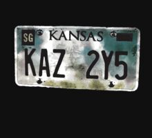 Supernatural Impala Kansas Plate by fixedinpost