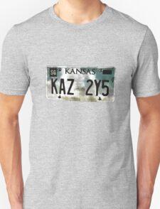 Supernatural Impala Kansas Plate Unisex T-Shirt