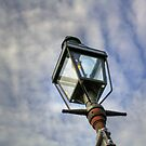 Gas Burning Lamp by Michelle Callahan