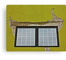 Stucco and Squares Canvas Print