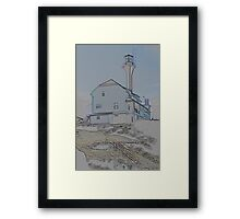 Yarmouth 250th Framed Print