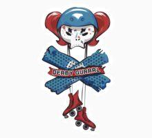 Tuff Skulls: Derby Gurrrl by EMG Graphic Art