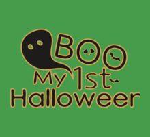 boo My first Halloween  One Piece - Short Sleeve