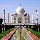 Taj Mahal by John Mitchell