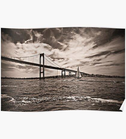 Newport Bridge Poster