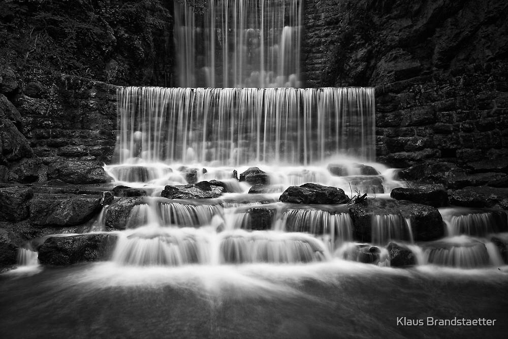 The Fall - Black&White by Klaus Brandstaetter