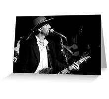 Dirt Petty 2 B&W (Dirt Petty & the Drinkin Posse) - MarkyStock2011 Greeting Card