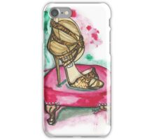 Glitter Sandals iPhone Case/Skin