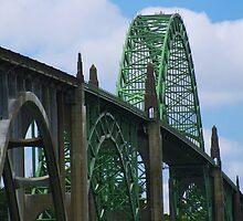 Newport Bridge by MackenzieT