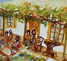 Front verandah (Haefligers Cottage) by Redviolin