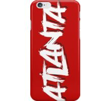 Atlanta: Scarlett iPhone Case/Skin