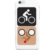 Bicycle Face! iPhone Case/Skin