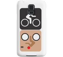 Bicycle Face! Samsung Galaxy Case/Skin