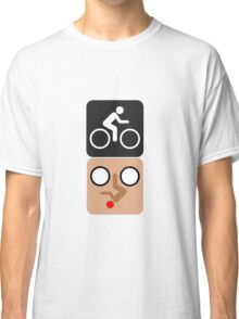 Bicycle Face! Classic T-Shirt