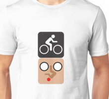 Bicycle Face! Unisex T-Shirt