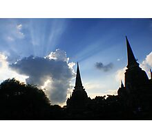 Shining sky Photographic Print