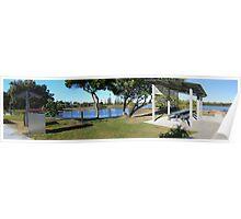 Tweed River panorama Poster