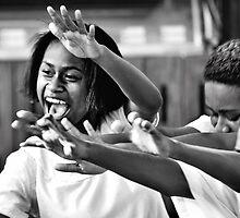 Fijian Dance by Trish Woodford