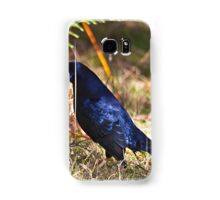 Male Satin Bower Bird Samsung Galaxy Case/Skin